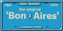 New Jersey Straw Plate
